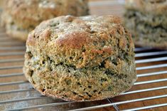 Buckwheat Biscuits ~ buckwheat flour gives these tall, fluffy biscuits some great nutty flavor and a nutritional boost as well! Buckwheat Gluten Free, Buckwheat Bread, Buckwheat Recipes, Gluten Free Baking, Gluten Free Recipes, Healthy Recipes, Healthy Breads, Gf Recipes, Healthy Sweets
