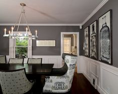 Approachable Chic Tudor- Dining Room