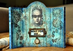 Liesbeth Fidder Triptych http://blog.paperartsy.co.uk/2015/07/2015-3-wait-for-me-by-liesbeth-fidder.html