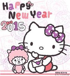 Happy New Year 2015 : Hello Kitty