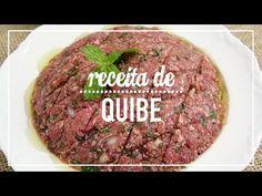 Receita de quibe super deliciosa e bem temperada. Fica uma delícia para servir cru, assado ou frito. Fácil, rápido e mega saboroso.