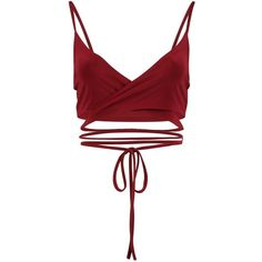 Boohoo Ava Wrap Over Strappy Slinky Bralet | Boohoo ($16) ❤ liked on Polyvore featuring tops, lace top, white lace bodysuit, white off the shoulder top, metallic crop top and off shoulder crop top