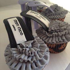Jimmy Choo Shoe Cakes