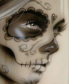 La Morte tattoo