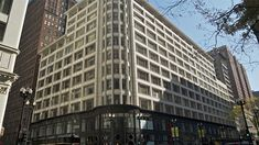 Louis Sullivan's Carson Pirie Scott department store. Article and video, 00:51. Carson, Pirie, Scott and Company Building. Chicago, Illinois, U.S. Louis Sullivan (architect). 1899–1903 C.E. Iron, steel, glass, and terra cotta.