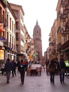 Rua Mayor - Salamanca, Spain