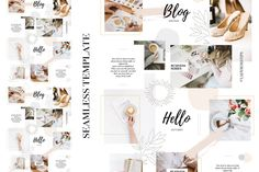 Make your Instagram Feed looks professional, stylish and unique with this beautiful template (for Canva and Photoshop). Get it now ->  #instagramfeed #instagrampuzzle #puzzlefeed Watercolor Texture, Watercolor Design, Watercolor Background, Abstract Watercolor, Branding Kit, Branding Design, Image Font, Blog Logo, Instagram Wedding