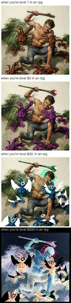 Every RPG in a nutshell