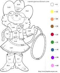 Colorear por numeros  Mirna  Pinterest