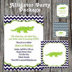 35 Best Alligator 1st Birthday Images Alligator Party Gator
