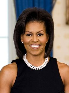 Real.  Michelle Obama, First Lady of the United States