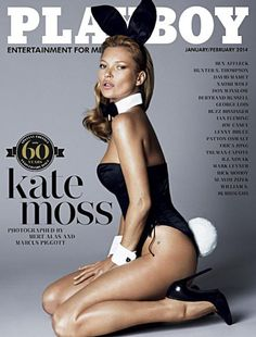 #MagLoveTop10 #SexiestMagazineCovers2013 No. 3: PLAYBOY USA, January/February 2014 (published in 2013).
