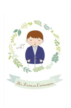 Primera Comunion varón First Communion, Party Themes, Mexico, Printables, Baby Shower, Scrapbook, Invitations, Birthday, Cards