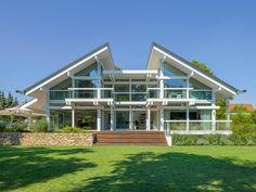 Delightful HUF Haus ART 6 Projektbeispiel 2 U2022 Designerhaus Von HUF HAUS U2022  Beeindruckendes Fachwerkhaus Mit Parkanlage