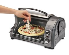 Hamilton Beach Easy Reach Toaster Oven, Metallic (31334) * Want additional info? Click on the image.