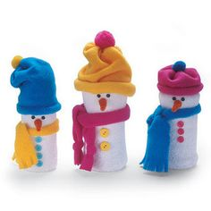Sneeuwpop knutselen!   knutsel & frutsel   Scoop.it