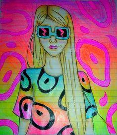 @sara_iero #draw #drawing #sketch #neon #dibujo #comic #dccomics #shadethechanginggirl #younganimal #7u7