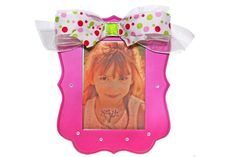 Compliment this frame with a photo of your sweet little girl.