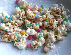 Der Knaller für den nächsten Kindergeburtstag! Popcorn mit Zuckerstreuseln!