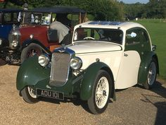 1933 Aero Minx at Highclere Castle in the sunshine Vintage Trucks, Old Cars, Cars And Motorcycles, Antique Cars, Classic Cars, Automobile, Sunshine, Castle, British