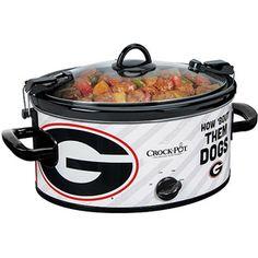Crock-Pot 6-Quart NCAA Slow Cooker, Georgia