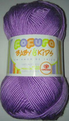 Lã Circulo Fofura Baby & Kids ( 5 cores)