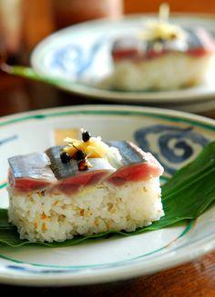 さんまの押し寿司