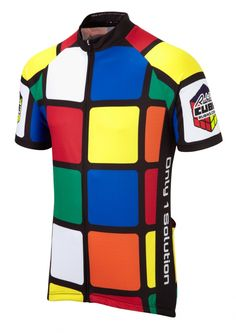 Rubik's Cube Cycle Jersey | Summit Different