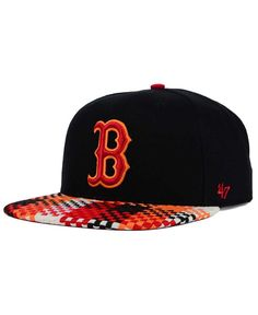 '47 Brand Boston Red Sox Ruffian Snapback Cap