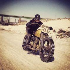 Desert Sled scrambler