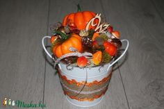 Őszi dísz, asztaldísz (melcsiangel) - Meska.hu Canning, Home Canning, Conservation