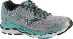 Mizuno Women's Wave Paradox 2 Running Shoe Silver/Dark Shadow Size 9 B, Brown