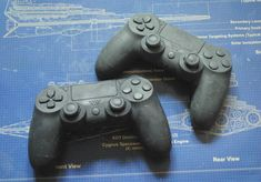 Playstation PS4 controller handmade Parody Soap  by NerdySoap