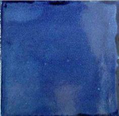 Solid Blue Tile 4″X4″