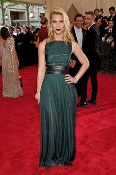 Claire Danes is what some may call a red carpet pro. The actress made her first Golden Globes appearance at the age of 16, in 1995, when she won...