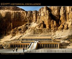 Queen Hatshepsut Temple in the Valley of Kings, Egypt - an architectural masterpiece