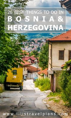 The best things to do on a road trip in Bosnia and Herzegovina - travel guide from Lili's Travel Plans Destination Voyage, European Destination, European Travel, Voyage Europe, Europe Travel Guide, Travel Guides, Places To Travel, Travel Destinations, Places To Go