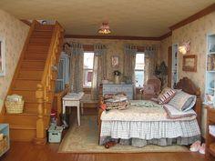 dollhouse miniature shabby