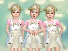 lillka's Lamb Dress for Toddler