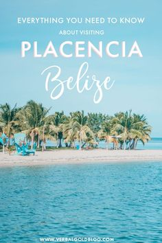 The ultimate guide to plan the perfect vacation in Placencia Belize. From what to do to where to eat and where to stay this travel guide is everything you need to plan the perfect holiday in Belize's coolest destination. Costa Rica, Haiti, Barbados, Amazing Destinations, Travel Destinations, Cuba, Panama, South America Travel, North America