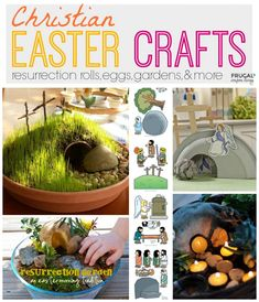 Christian Easter Crafts Round-Up Featuring Resurrection Eggs, Gardens and Rolls - DIY Garden Ideas on Frugal Coupon Living