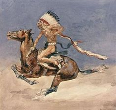 """Shop Frederic Remington Western Art """"Pony War Dance"""" Poster created by MemoryLaneDesigns. Personalize it with photos & text or purchase as is! Frederic Remington, Native American Artists, Native American Indians, Painting Prints, Fine Art Prints, Paintings, West Art, Cowboy Art, Le Far West"""