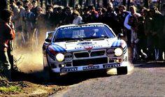 Markku Alen - Ilkka Kivimaki 18th Vinho do Porto Rallye de Portugal 1984 (Lancia Rally 037)