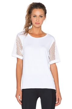 MICHI Rize Top in White