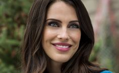 """Find out more about the cast of the Hallmark Channel movie """"Merry Matrimony,"""" starring Jessica Lowndes and Christopher Russell. Jack Evans, Daniel Lissing, Jessica Lowndes, Holiday Movie, Christmas Movies, Movie Previews, Stunning Eyes, Balayage Hair, Dreads"""