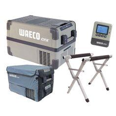 New Waeco Fridge/Freezer, Stand, Fridge Bag & Wireless Remote Bundle Auburn, Freezer, Sydney, Remote, Amp, Tools, Vans, Chest Freezer, Freezers