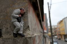 Isaac Cordal - Cement Eclipses @ Ordes, GZ