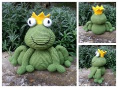 "Frosch Froggi ""Häkelanleitung"""