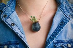 Planta de vestir! Wearable Planter by Colleen Jordan
