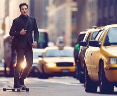 This is awesome! Suit up and skate.